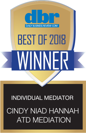 CINDY HANNAH ATD MEDIATION 2018 WINNER